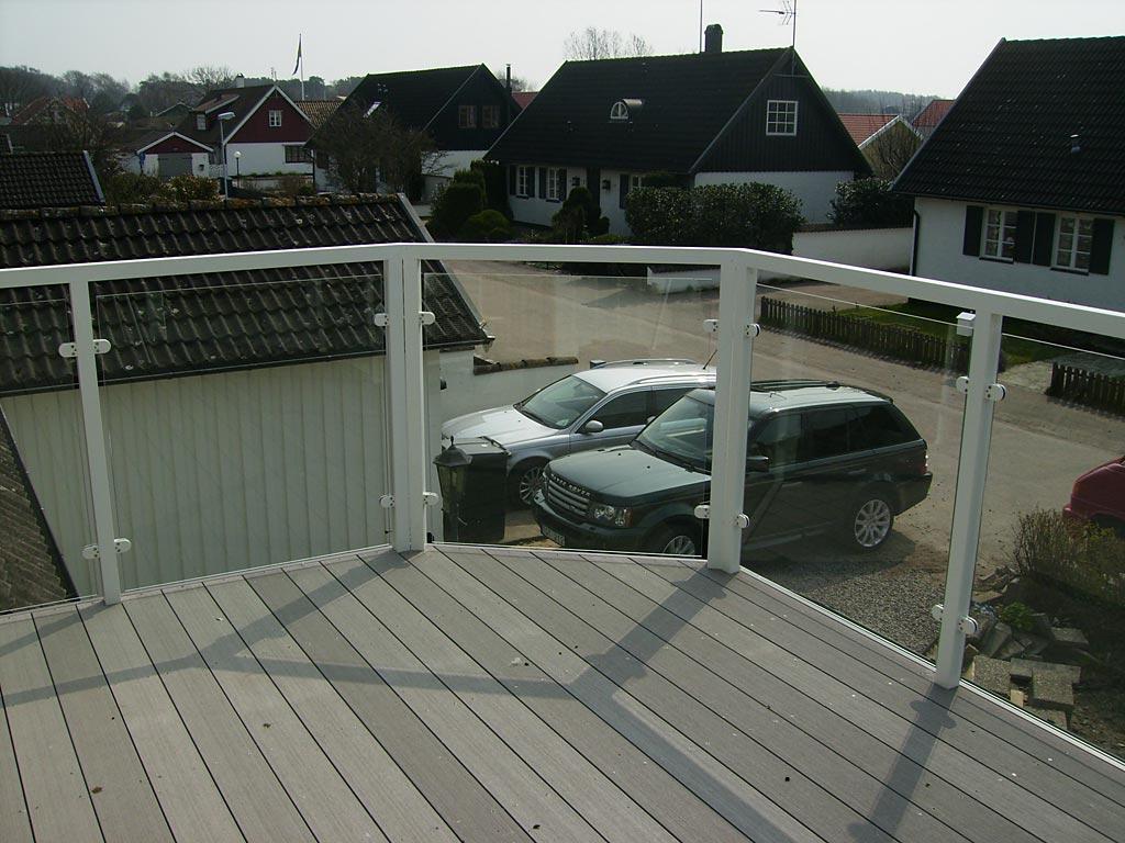 Nya bilder på aluminiumräcket | Räckesbutiken.se