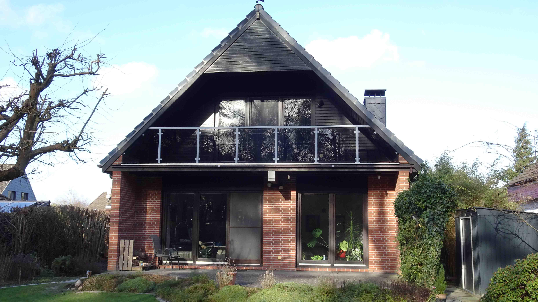 Vorher-nachher | Geländerladen.de Neue Gelander Fur Terrasse Und Balkon Aus Holz Edelstahl Oder Glas