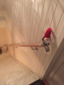 Treppen-Handlauf aus Holz