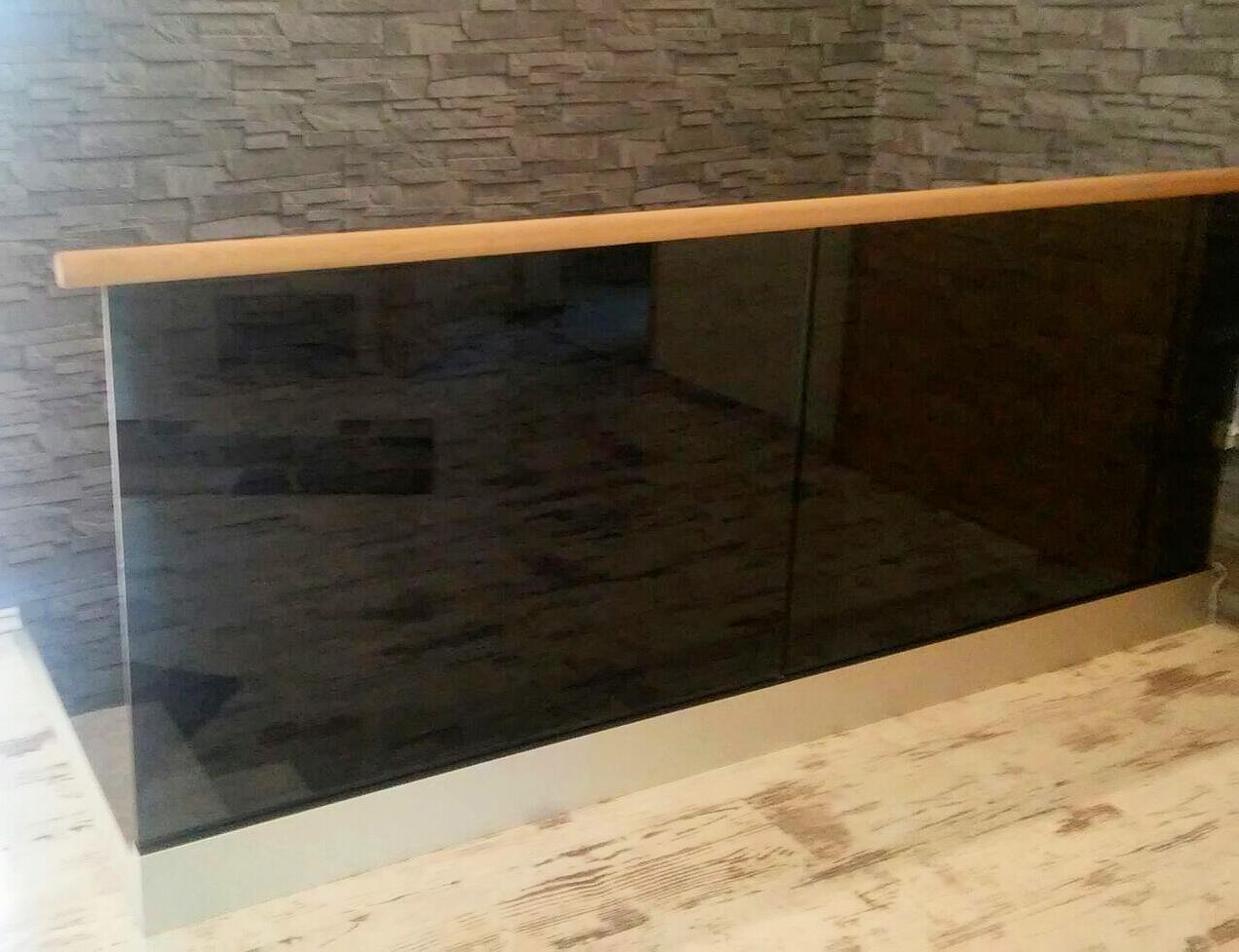 Stolpfritt glasräcke till altan, terrass, balkong eller inomhus Räckesbutiken