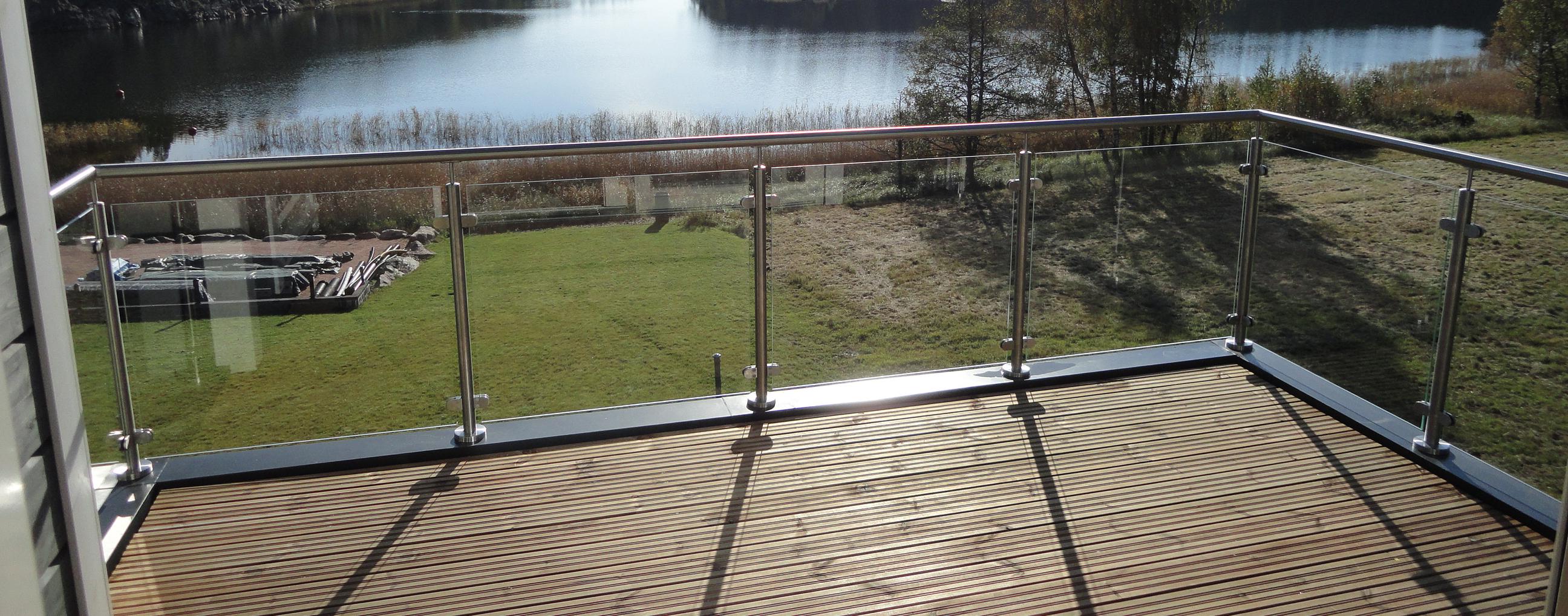 Balkongeländer | Geländerladen.at Neue Gelander Fur Terrasse Und Balkon Aus Holz Edelstahl Oder Glas