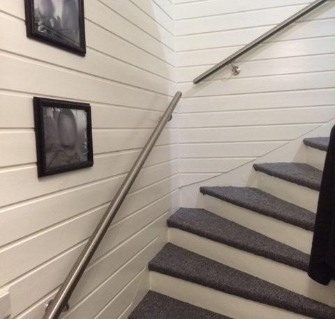 Ledstång & Ledstänger för din trappa och trappräcke - Räckesbutiken.se
