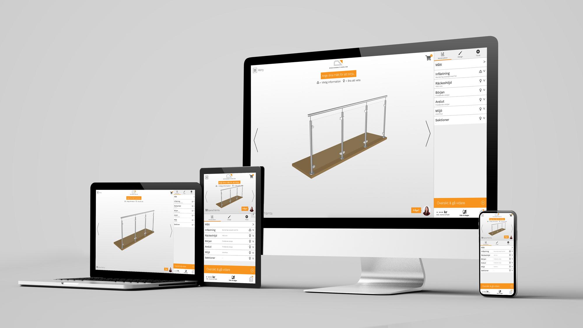 Beställ Alu Modern online - via dator, surfplatta eller mobil
