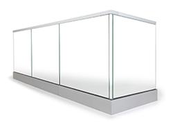stolpfritt glasräcke